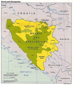 Post-war Bosnia