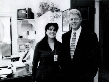 Clinton, Lewinsky in mid-November 1995