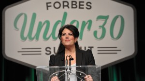 Lewinsky yesterday (Forbes)