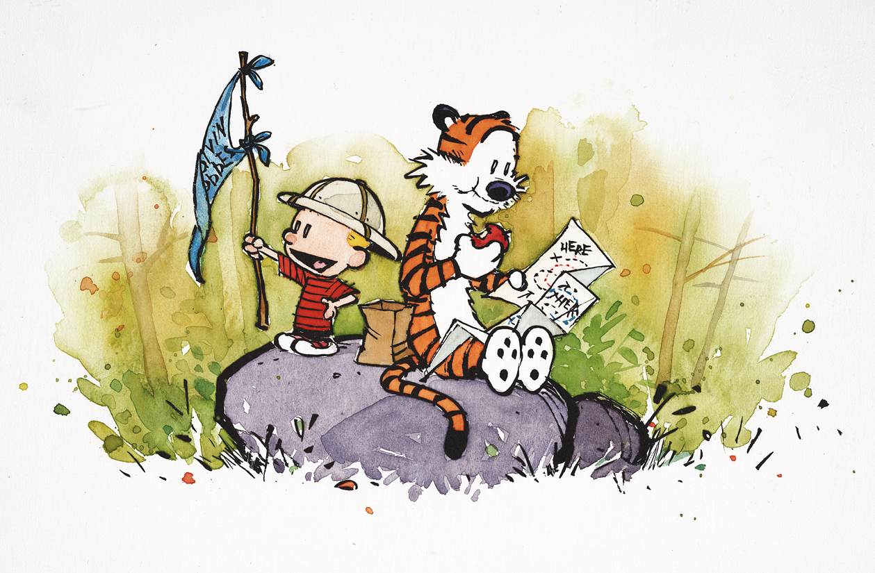 Calvin and Hobbes\' was best ended in 1995 | The 1995 Blog