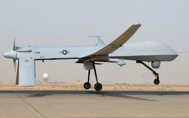 RQ 1 Predator UAV Medium Altitude Endurance Unmanned Aerial Vehicle United States US Army 640